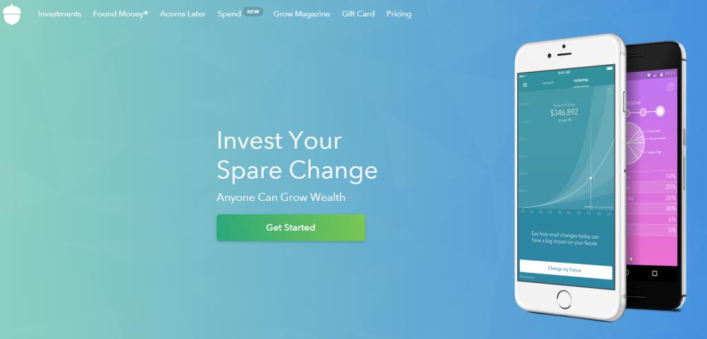 acorns app for invest
