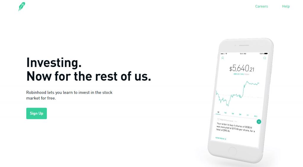 robinhood app for invest