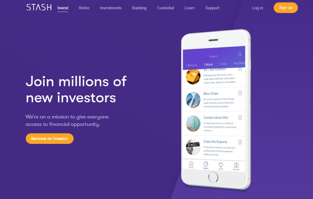 stash app for investment
