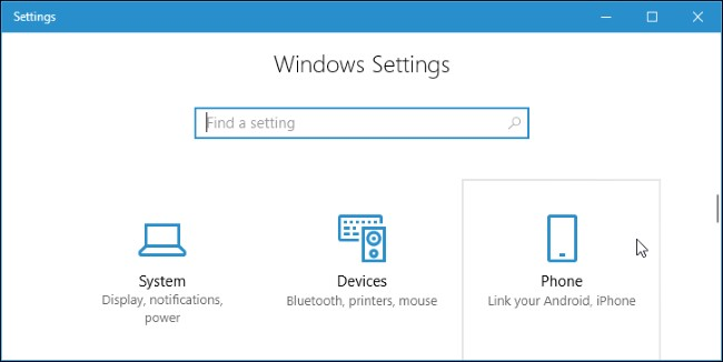 "Share Webpages Between Phone and PC: Windows 10 ""Continue On"