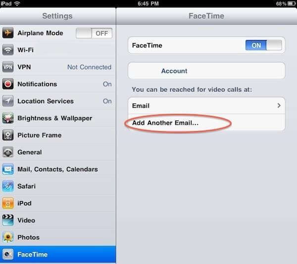FaceTime app