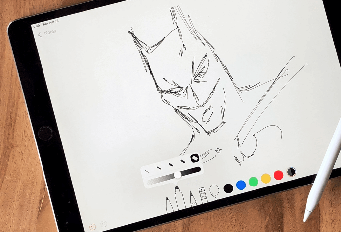 New Ink Picker for iPad