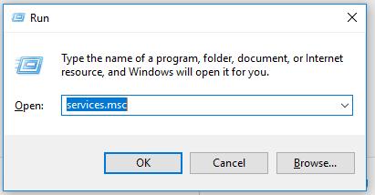 Run Application Identity Service