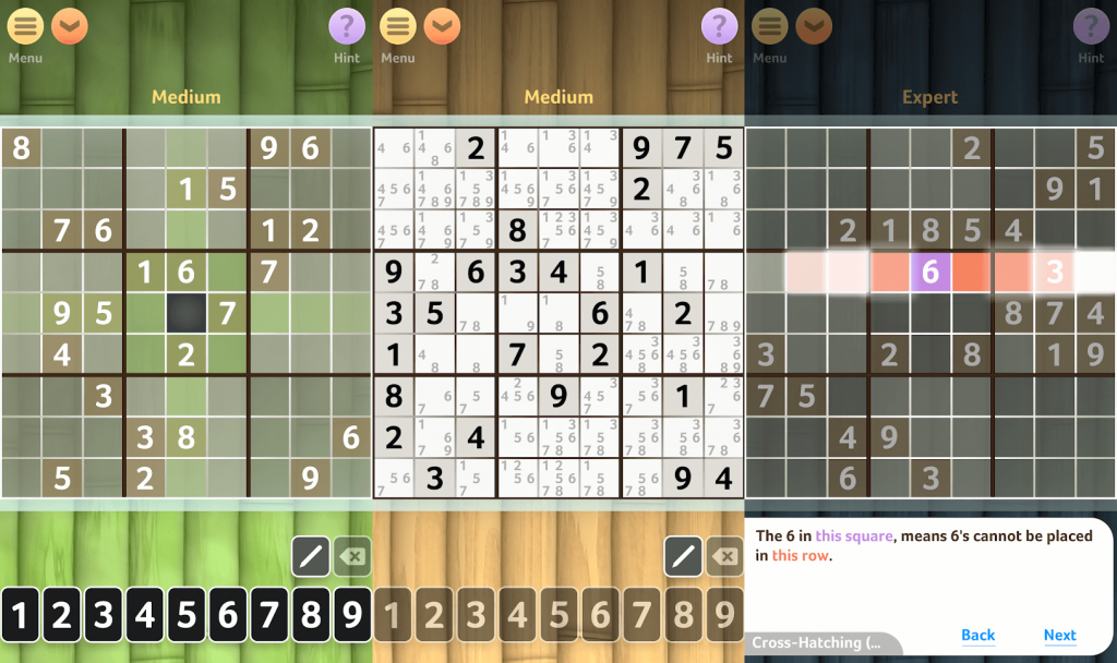Sudoku puzzle game for android users