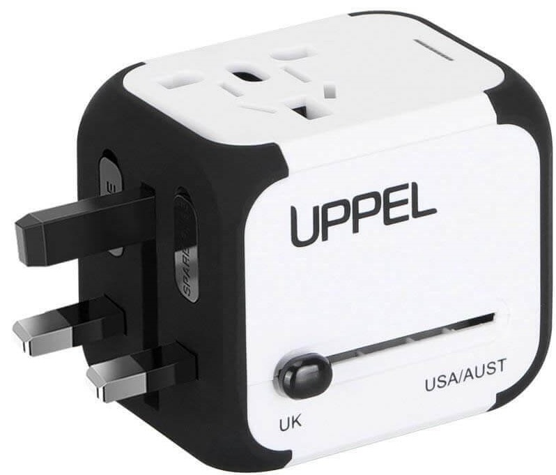 Universal Travel Adapter- travel gadget for world travellers