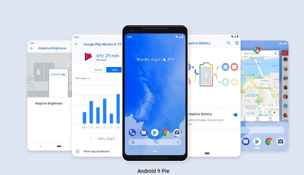 android 9 pie released