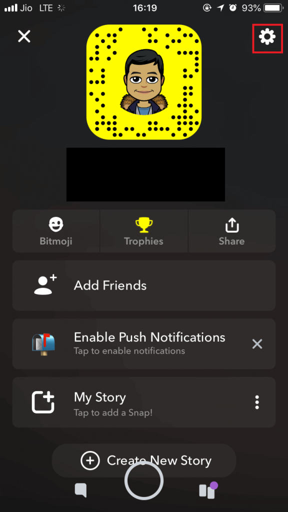 save data usage using Snapchat