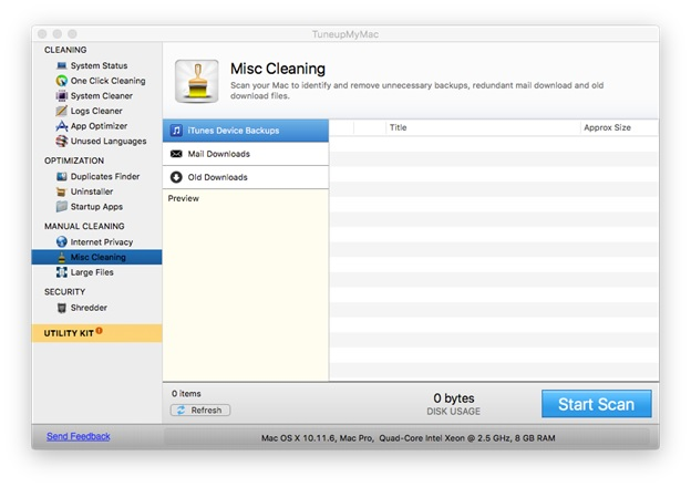 remove old backups mac