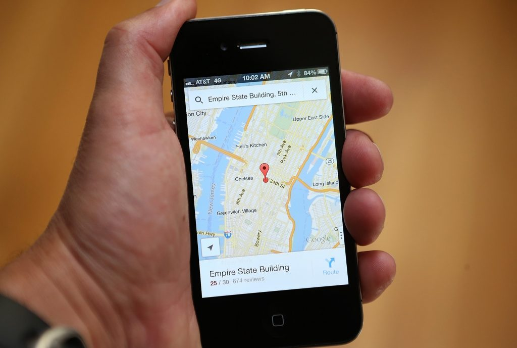 Track your location data