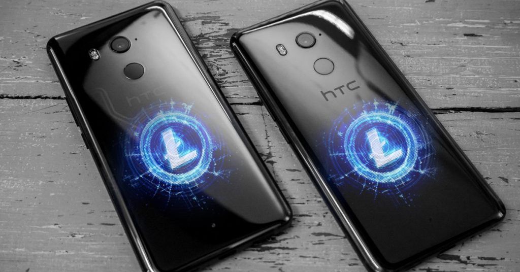 HTC Exodus cryptophone