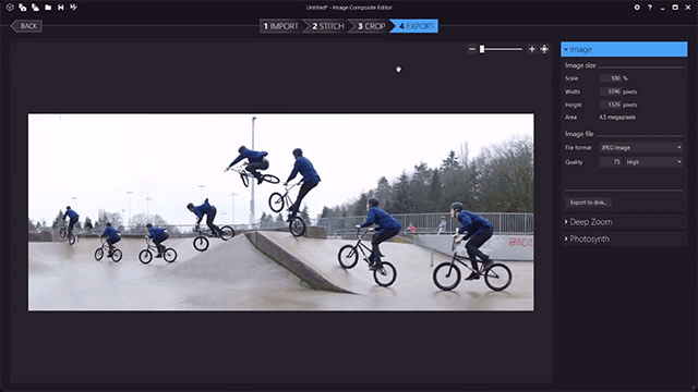 Image Composite Editor - Best Photo Stitching Software