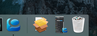 Recover Deleted Photos on Mac Using Trash Can-step-1