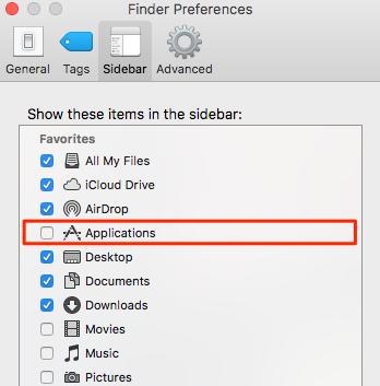 Using Finder