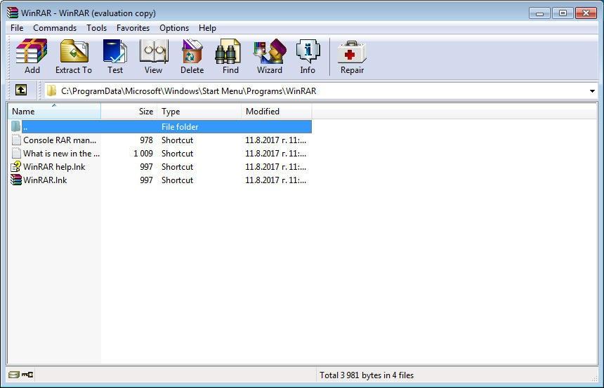how to open rar files windows 8