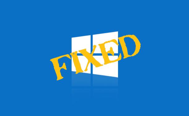 How to fix Windows 10 October 2018 Update Install Fail Error