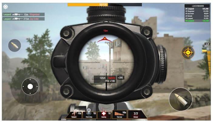 Bullet Strike-Battlegrounds