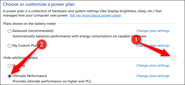 How to Enable Ultimate Performance Power Plan on Windows 10-2