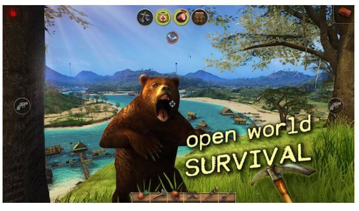 Radiation Island - android battle royal game