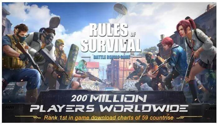 Rules of Survival- android battle royal game