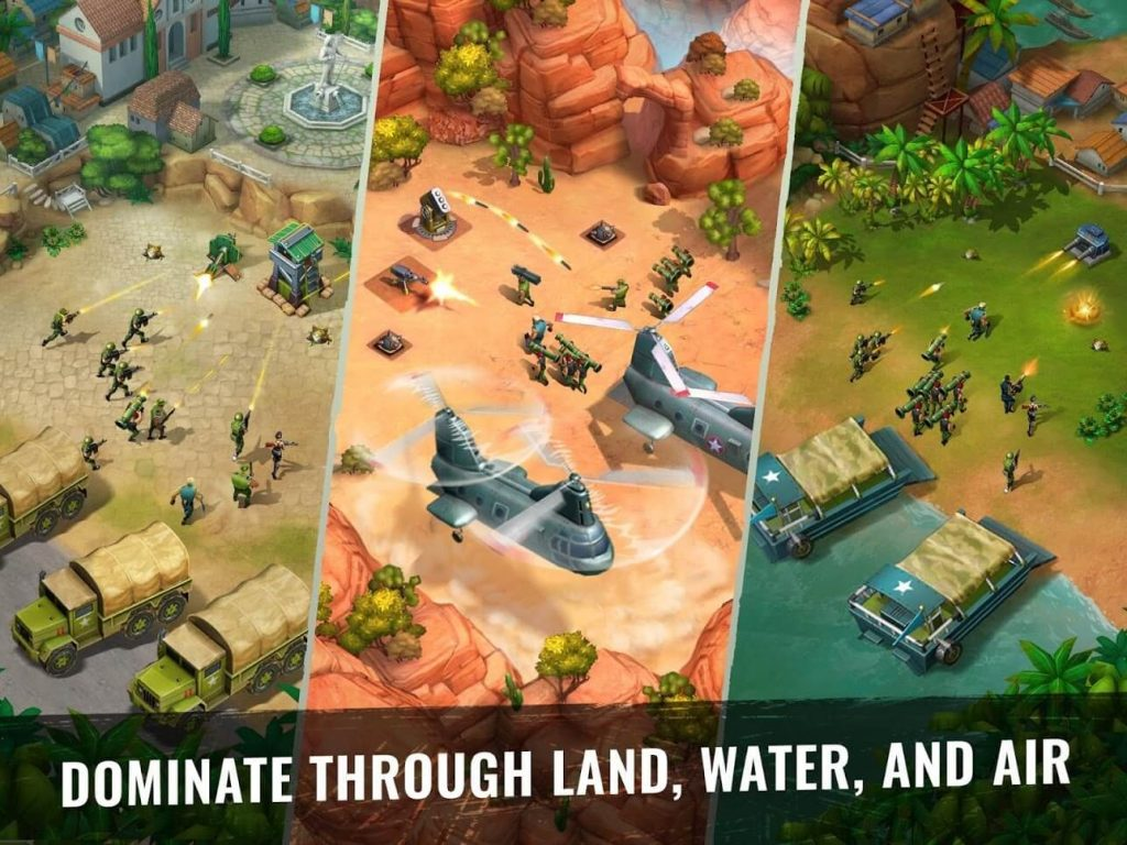 Army of Heroes android war game