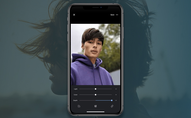 How to Edit Portrait Depth on Google Photos For iOS