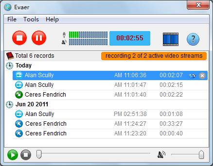 Evaer Skype Video Recorder