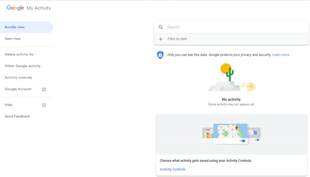 Find Google Assistant Recordings