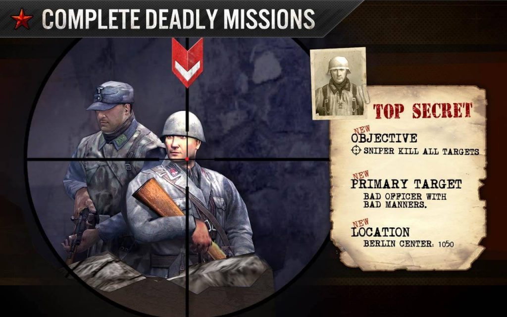 Frontline Commando WW2 war game for android