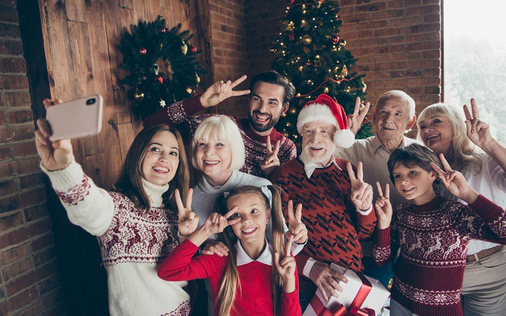 Image result for christmas selfie