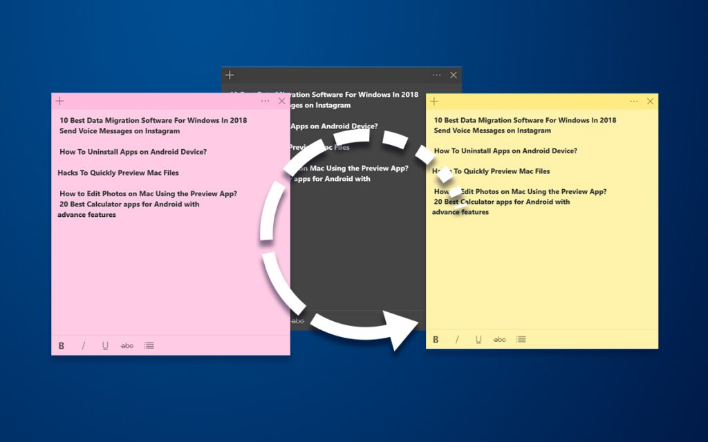 How To Backup & Restore Sticky Notes On Windows 10?