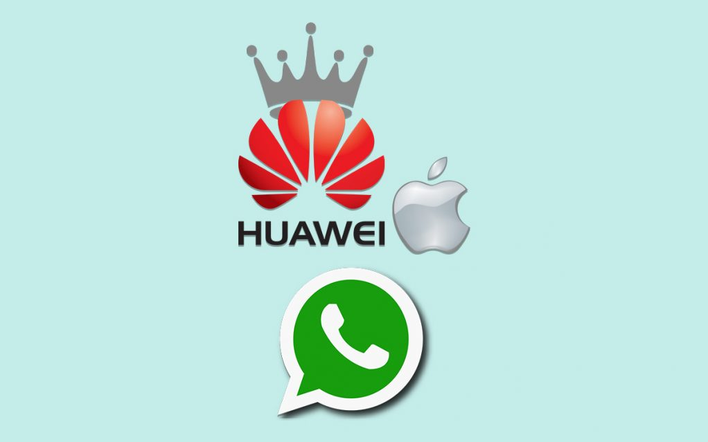 Newsletter: Huawei To Top 2018 Smartphone Sales And WhatsApp Upcoming Features