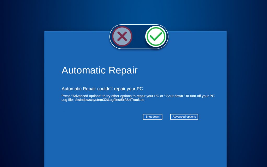 Steps To Enable/Disable Automatic Repair On Windows 10