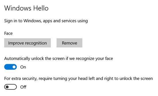 How to setup Hello on Windows 10 - 2