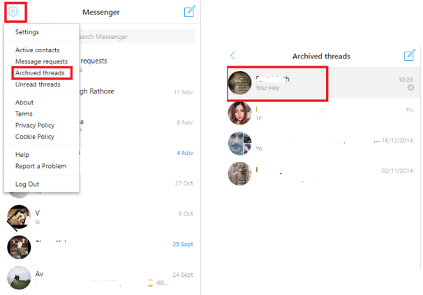How To Recover Deleted Facebook Messages On Messenger