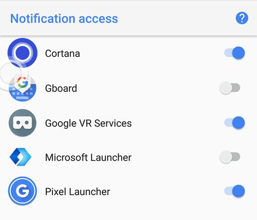 notification access windows 10 to phone