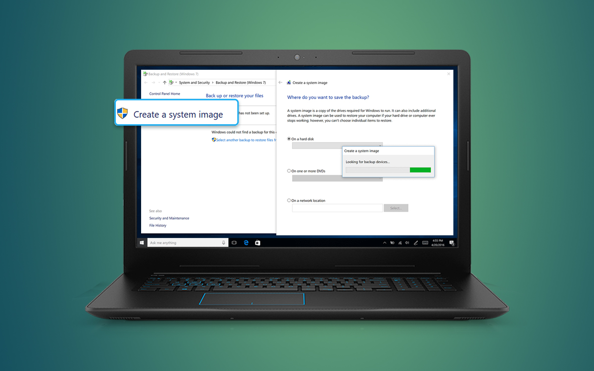 How to Create a Quick System Backup on Windows 10, 7 and 8