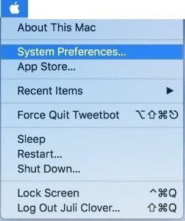 Enable Dark Mode in macOS Mojave