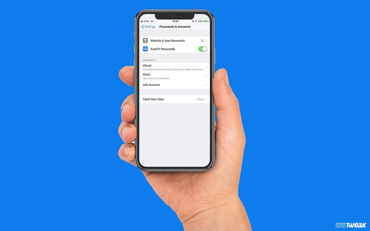 How Do Passwords Work In iOS 12?