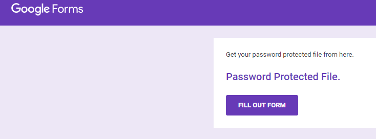 google drive file password protection