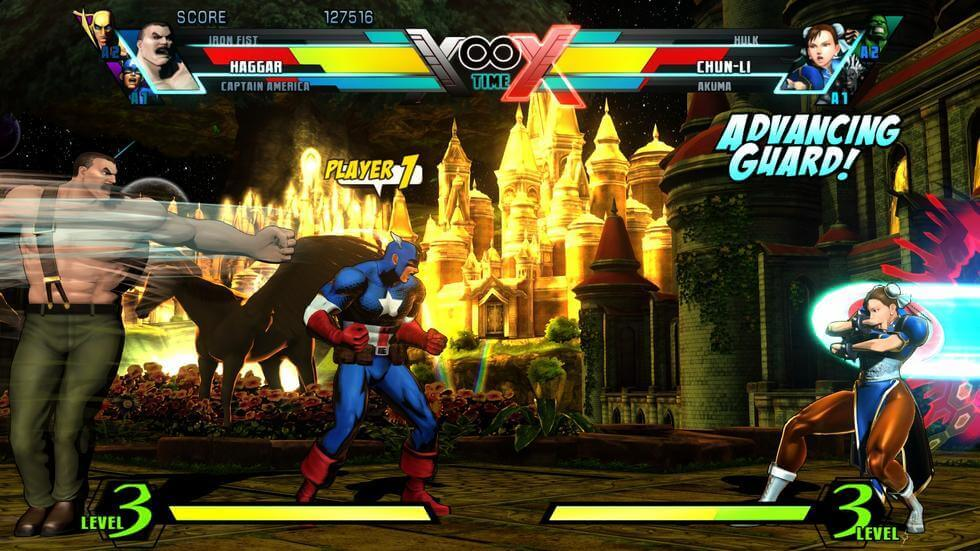 Ultimate Marvel Vs Capcom 3 - best fighting games