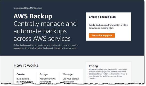 aws backup help auto backup