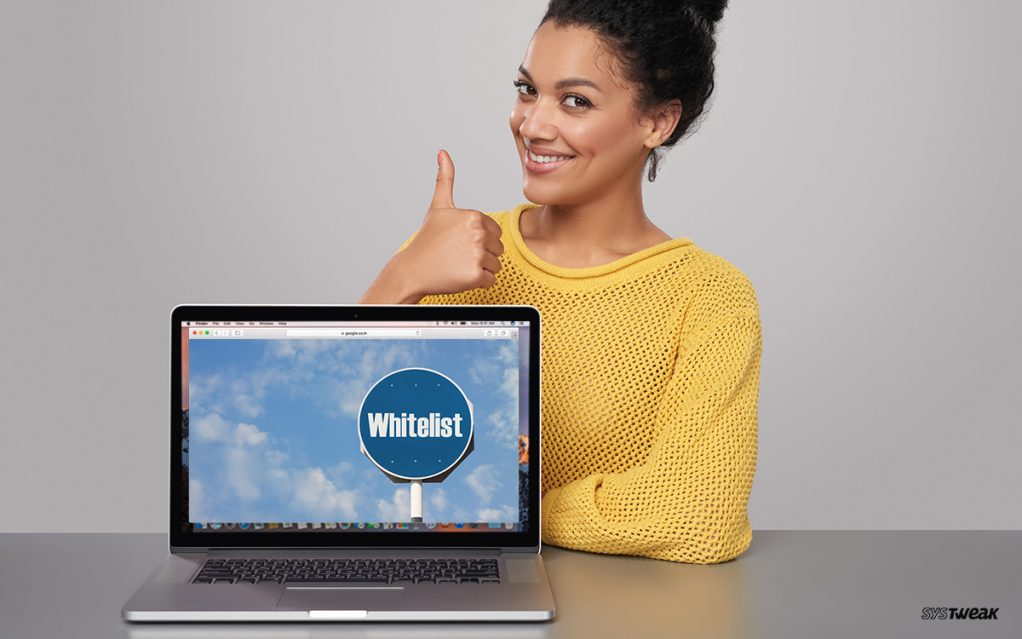 How to Whitelist a Website, Webpage or YouTube Channel