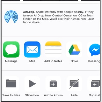 send big videos from iPhone on WhatsApp with Files app step-3