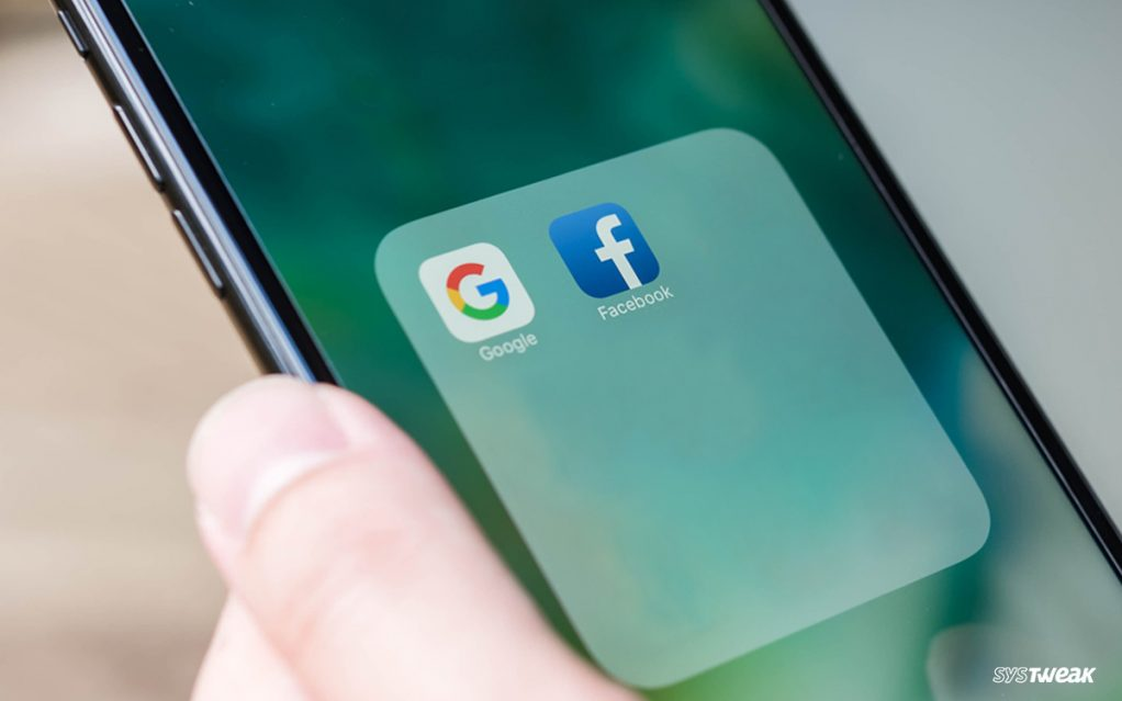 Someone Stole from Google and Facebook, and It's Irony Hitting Them Back