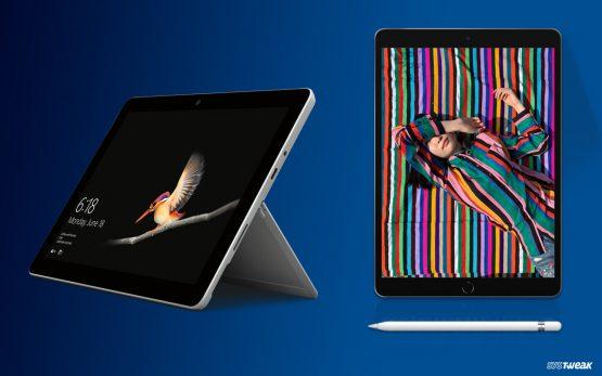 Detailed Comparison: Microsoft Surface Go vs Apple iPad Air (2019)