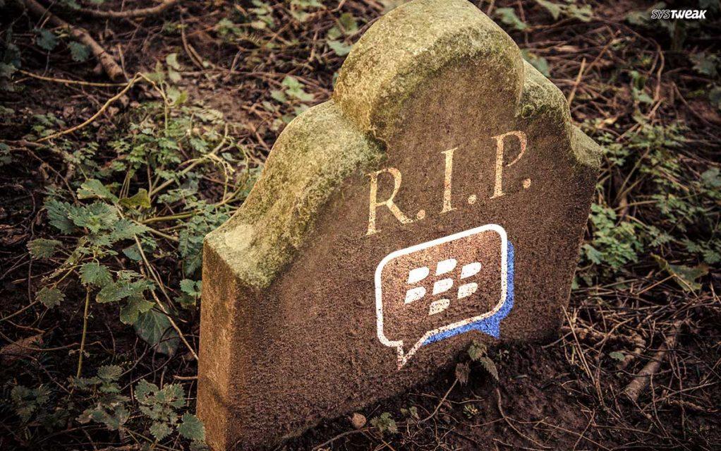 RIP BlackBerry Messenger!