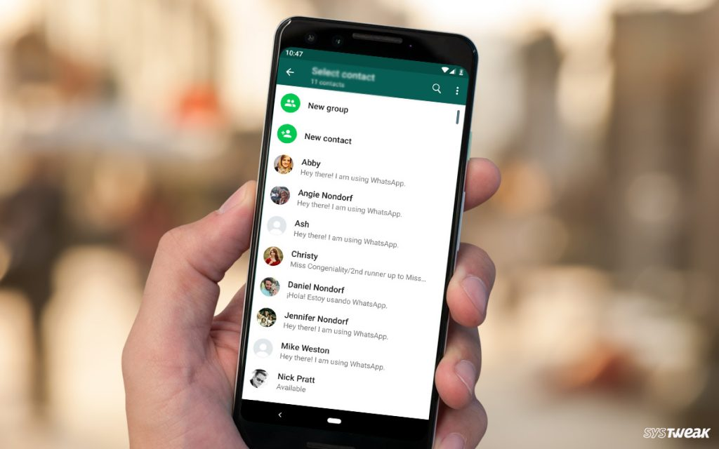 Contact Names Disappearing in WhatsApp? Here's The Fix!