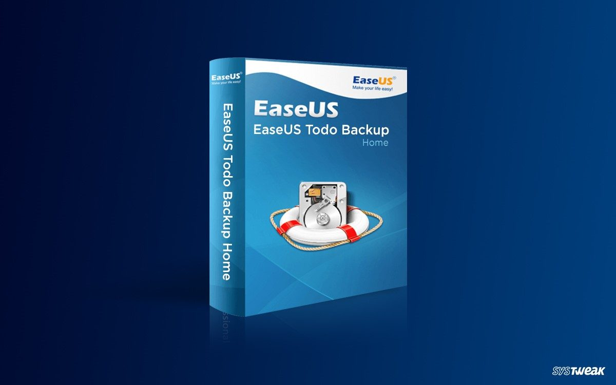 EaseUS Todo Backup Home- Smartest Tool to Backup Data