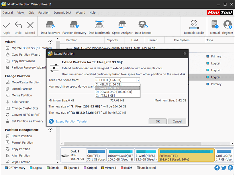 MiniTool Partition Wizard: An Ultimate Partition Manager for Windows!