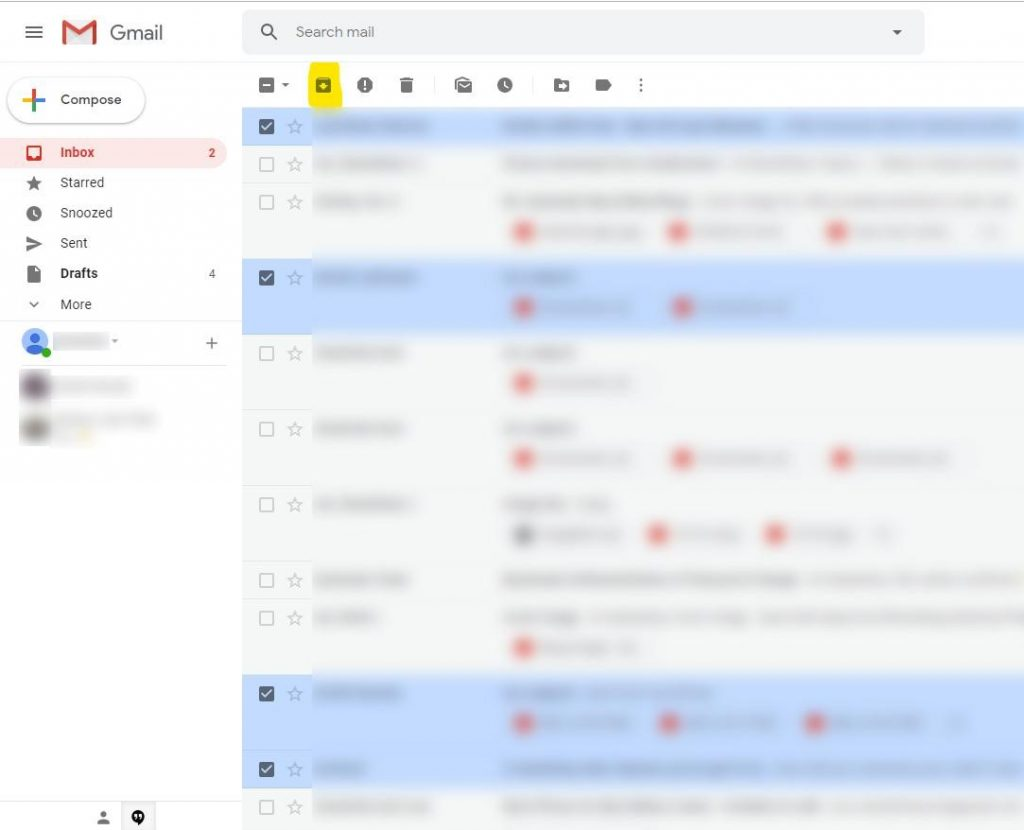 What Does It Mean To Archive An Email >> What Is Gmail Archived Mail And How To Recover Them Back